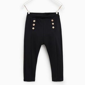 EUC Zara Ponte Knit Leggings
